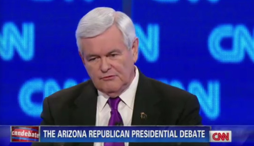 "afternoonsnoozebutton:  Gingrich: ""All of us, men and women, boys and girls, are more in danger than we have ever been in our nation's history.""  Yeah, you know, except during the Revolutionary War, the War of 1812, the Civil War, World War I, World War II, the Vietnam War, or the Cold War."