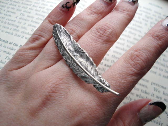 Feather Ring by IrinSkye