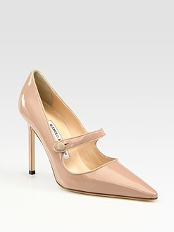 Manolo BLahnik Mary Jane Point Toe Pump 2012 Collection