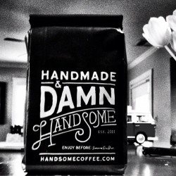 we brought some handsome coffee home for the french press.