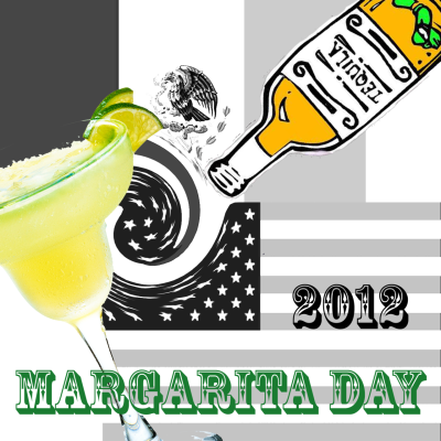 "Redneck Margarita: (Yeah, apparently the liquor industry has crowned today as ""National Margarita Day""-what a hallowed day it is! 2 more hours kids…drink up!  Margarita ingredients: *(serves 1-so do some math lazy)* 2                                                                                                                                    ounces good Tequila 1/2-1 ounce                                                                                                                                   Triple sec, Cointreau, or orange liqueur 3                                                                                                                                    Key limes juiced, or one whole regular lime + wedges for garnish 1                                                                                                                                    salt rimmed redneck glass  Redneck glass:  1                                                                                                                                    Dollar store clear glass candlestick 1                                                                                                                                    8 ounce canning jar of your choice, the  quilted diamond pattern from Ball is perfect for fine crystal good quality clear drying glue for glass or ceramics (from Food52.com, *=moi)"
