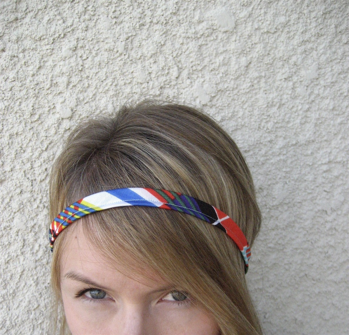 The Skinny- Geometric Vintage Headband by SevenWhiteRabbits