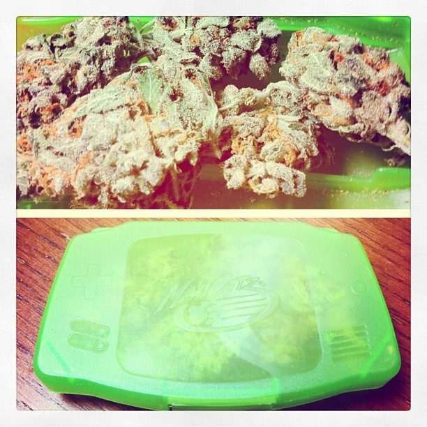 #weed #gameboy #420 🍁#Dank ✌ (Taken with instagram)