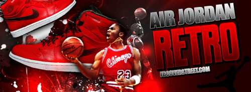 Air Jordan Retro Facebook Cover