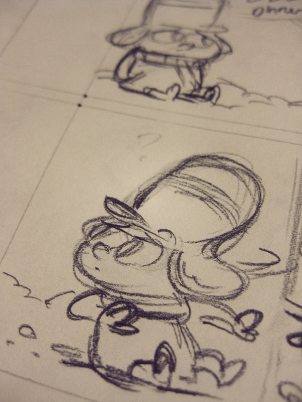 New comic in the works. Starring this kid.