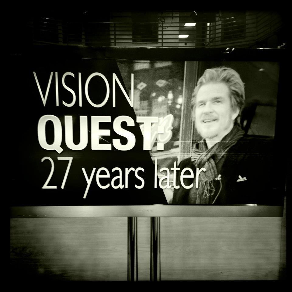 You know it's time to clean your desk when you find a copy of Vision Quest tucked between a pile of papers. When you return it to the news director, they snuggle it, recalling the smell of Matthew Modine in the newsroom.
