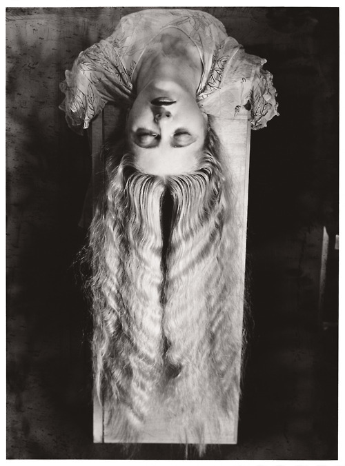 Man Ray, Woman with Long Hair, 1929.