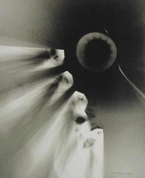 Man Ray, Ray-O-Graph III, 1927.