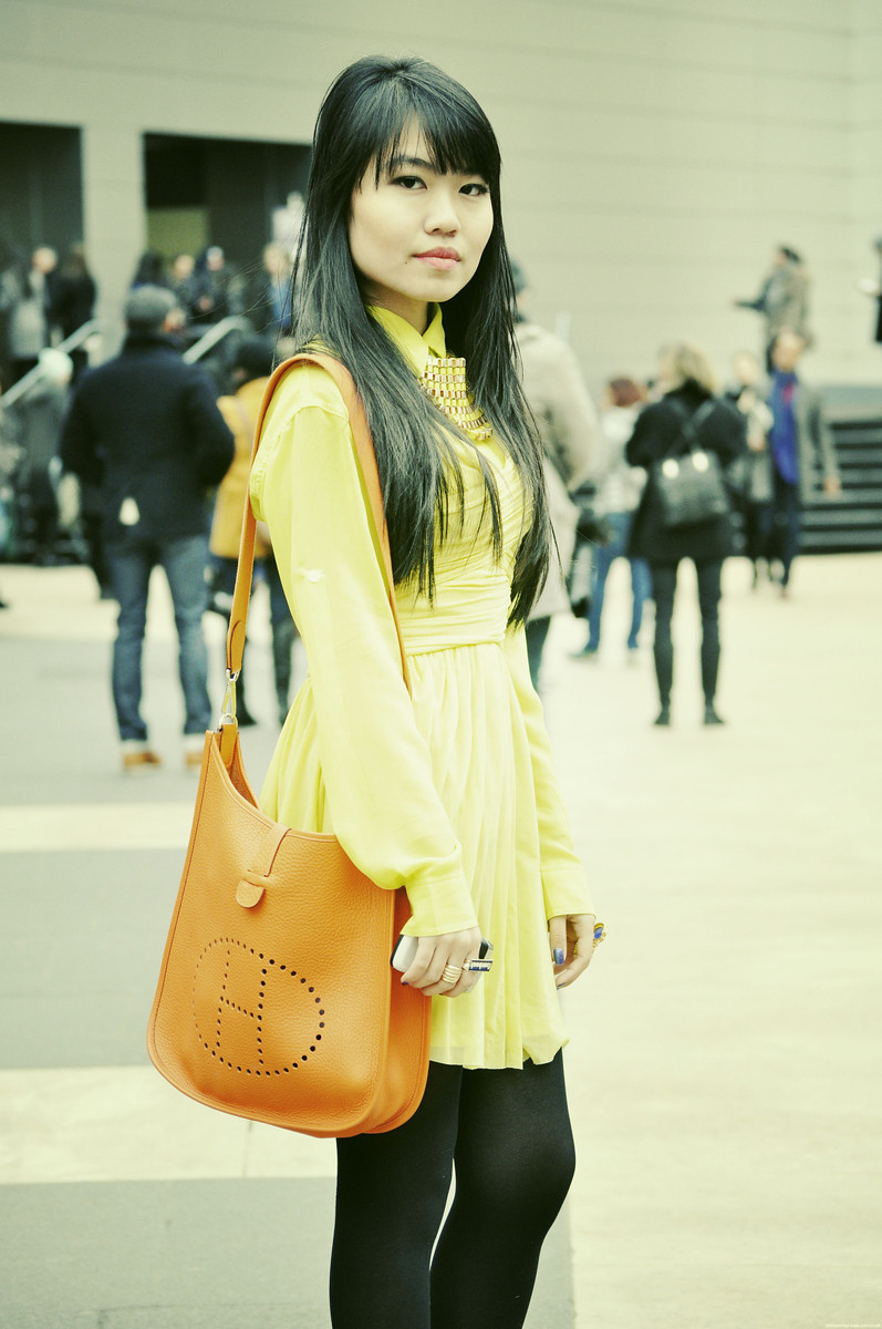 #NYFW DAY 6    Nicole - Lincoln Center, NYC   Princess of NEON!