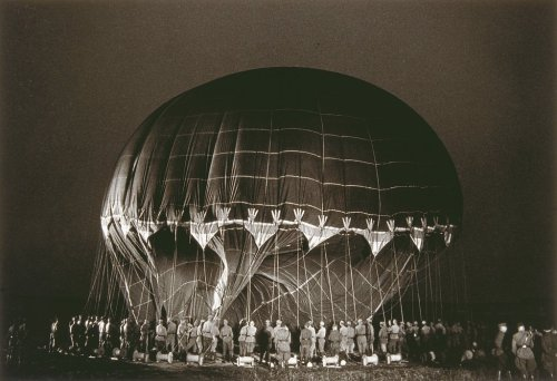 Dmitri Baltermants Before Sputnik (Launching a Stratosphere Balloon) 1954
