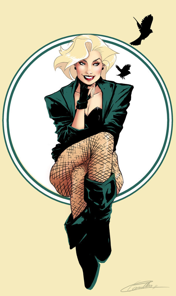 Black Canary by Lorena Carvalho