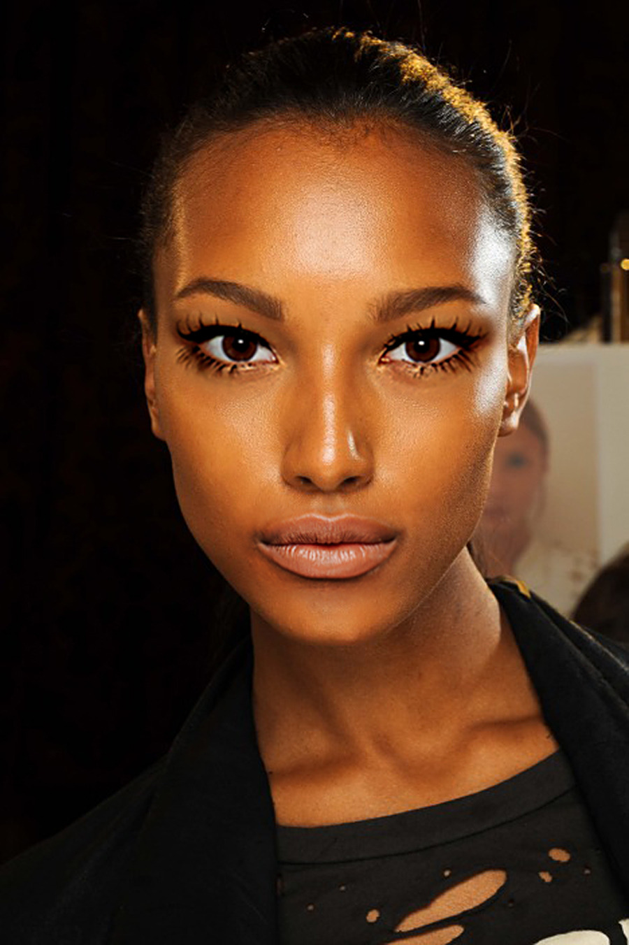 Base: Jasmine Tookes Eyes: Sui He Nose: Jasmine Tookes Mouth: Jourdan Dunn