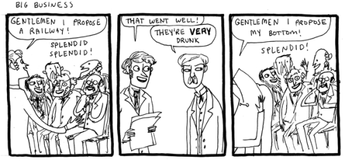 Posting my favorite Kate Beaton comics. :3