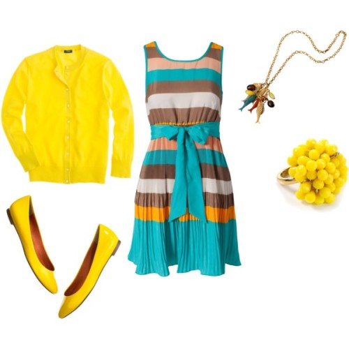 yellow by evirawr featuring patent leather shoes