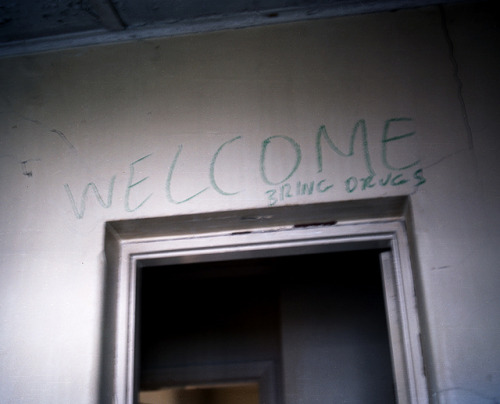 Welcome, bring drugs on Flickr.
