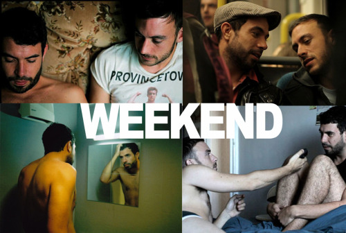 fckyeahqueer:  WEEKEND - Go and see it, gorgeous story, beautifully filmed!  Directors Statement: I wanted to tell an honest, intimate and authentic love story. I wanted to express that feeling of both fear and excitement that comes with the possibility of something new. I wanted to watch these two guys slowly fall for one another, fall for each other's differences almost as if they were uncovering missing pieces of themselves. I wanted to capture those moments that two people share when they truly start to engage with one another, gently focusing in on the struggles at the core of their characters. Russell and Glen are two people navigating through life in very different ways but both are looking for same thing - to find their place within the world around them. They are trying to work out who they are, what they want and how they should define themselves, in private as well as in public. Obviously when dealing with two gay characters many of these issues become especially pertinent and it was important to me that I tried to say something truthful about the complexities of the modern gay experience. However, just as there are many ways to define a person, the same can be said of a film. I hope that rather than narrowing the resonance of the story, the gay context helps to amplify the themes felt at the heart of Weekend - those struggles we all face regardless of sexuality.