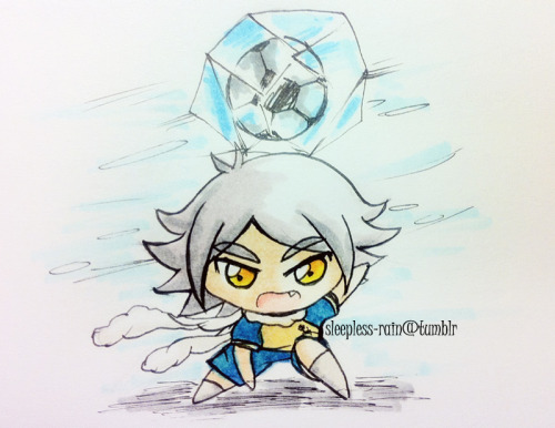 "I drew this chibi Atsuya for my bro…because he says ""FUBUKI IS SEXY"" yhea my bro's proabably gay."