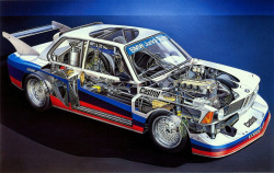 touringcars:  1973 BMW 3.0CSL