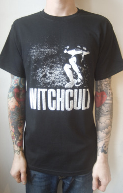 Witch Cult - One colour, white print on black shirts. Loads of merch for their forthcoming tour with Bear Trap. Check out the dates here!