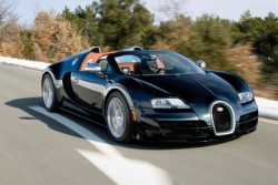 I love this company. Gran Sport Veyron + Super Sports Veyron = The Veyron Vitesse.  Sexy car, sexy name, 1200hp, and no roof. Absolute, perfection.