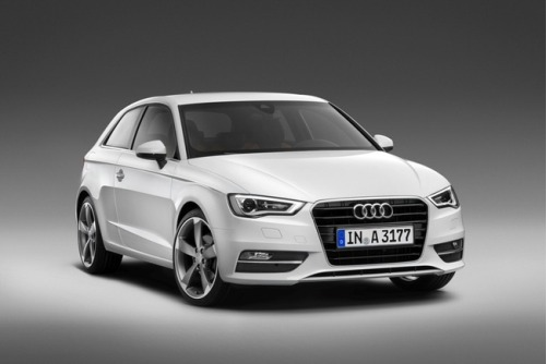 Wicked in white - Audi A3. [via VT]