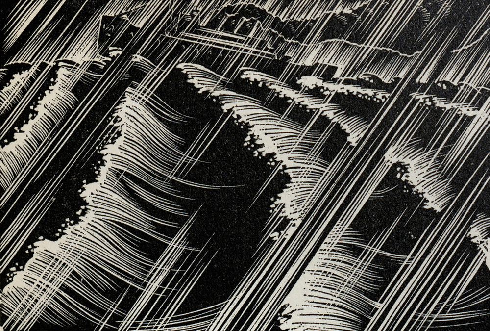 "ummahuntar:  Lynd Ward - Wood Engraving for Alec Waugh's ""Hot Countries"" - 1930"