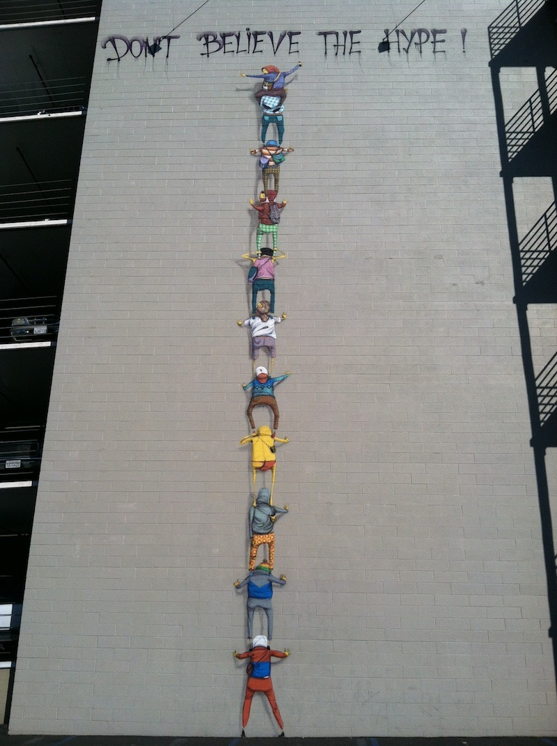 """Don´t believe the hype"", Os Gemeos. Los Ángeles (EE.UU)"