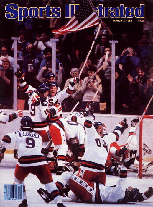 "February 22nd, 1980 Who can forget the ""Miracle On Ice""? The United States team, made up of amateur and collegiate players and led by coach Herb Brooks, defeated the Soviet team, who were considered to be the best ice hockey team in the world at the time. Team USA went on to win the gold medal by winning its last match over Finalnd. The Soviet Union took the silver medal by beating Sweden in its final game."