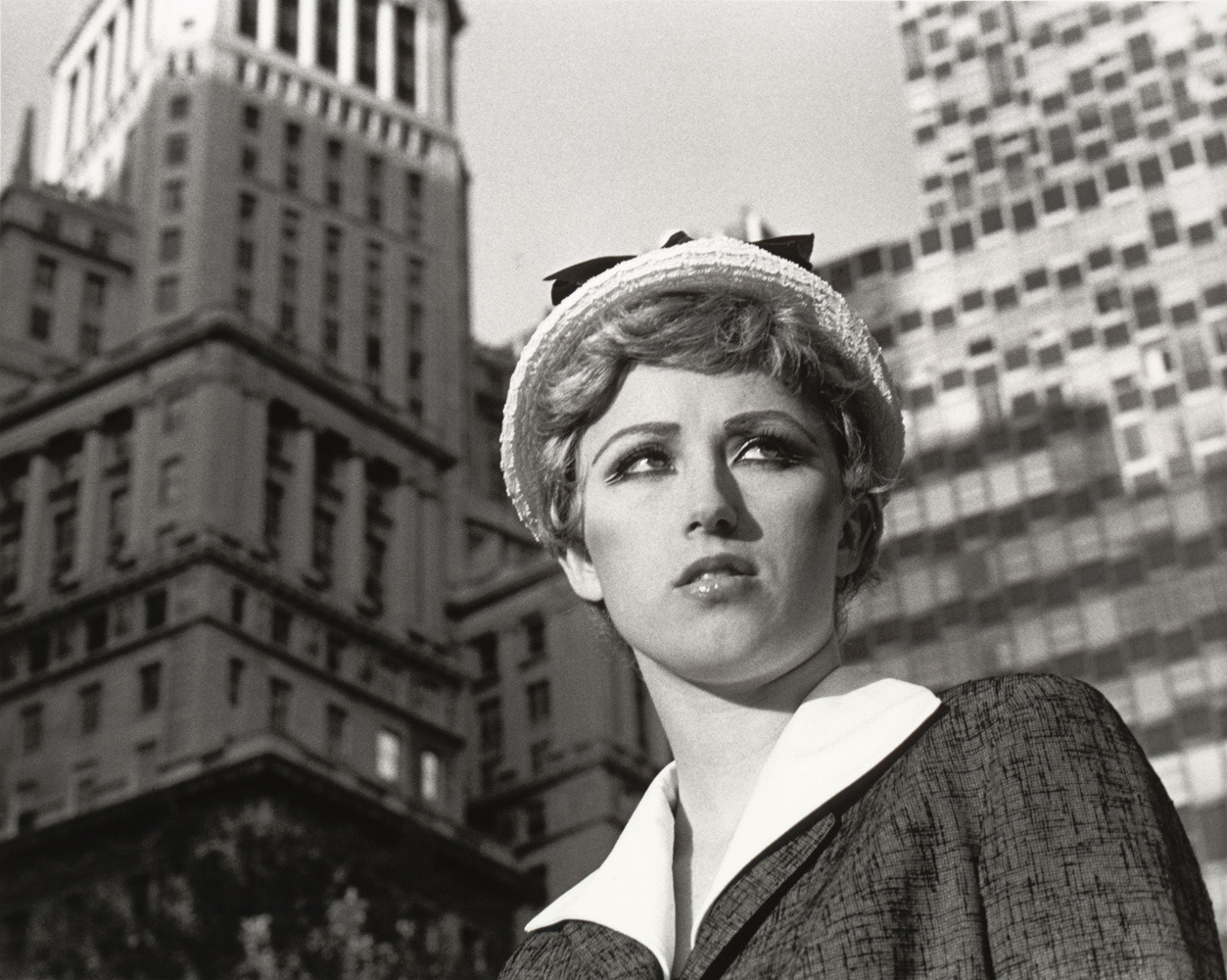Untitled Film Still #21, 1978 Cindy Sherman takes pictures only of herself, but she always insists she doesn't make self-portraits. A retrospective of her work is on view Feb. 26 – June 11 at New York's Museum of Modern Art. See more here.