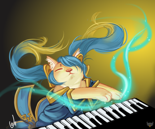 "Keyboard ""Sona"" Cat"