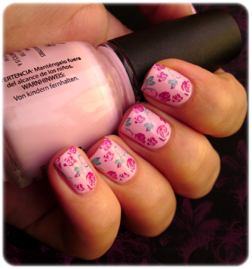 Pastel Pink & Roses… My take on Spring!