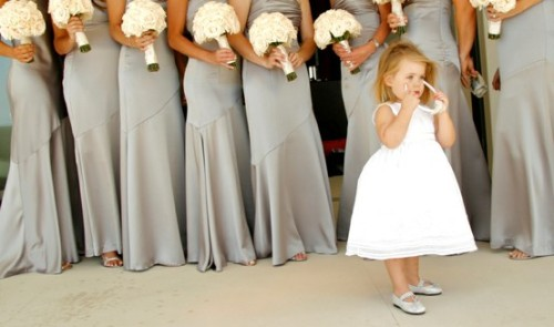 t-fairygodmotherofweddings:  Children at Weddings…