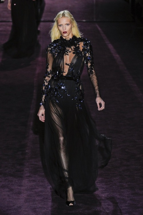 Gucci, Fall 2012 Ready-to-Wear Anja Rubik // fuckyeahhotpants:watchthefrone