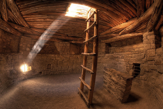 Pueblo Indian Kiva by Stephen Oachs (ApertureAcademy.com) on Flickr.