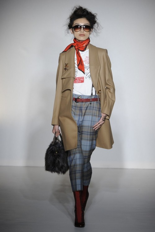 Vivienne Westwood-red label fall 2012