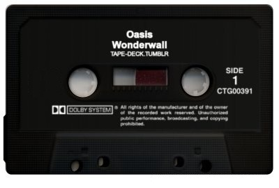 tape-deck:  Oasis - Wonderwall