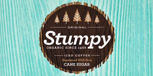 Stumpy Iced Coffee by Alex Westgate