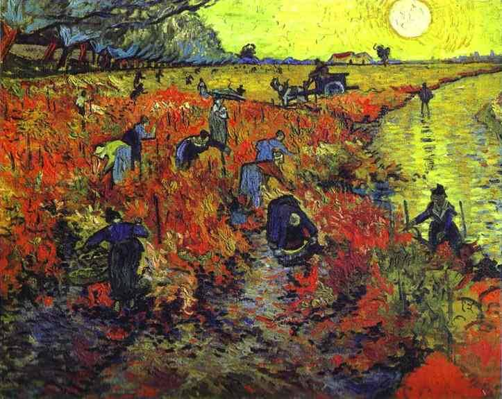 Vincent Van Gogh, The Red Vineyard (1888)