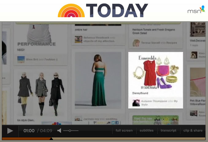 Did you watch The Today Show this morning?