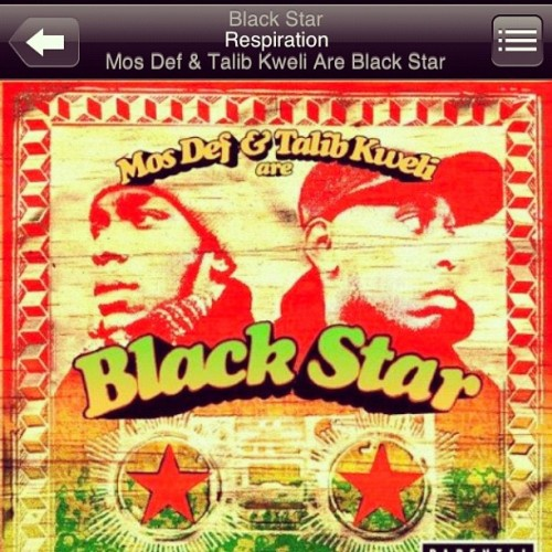 "#NP Blackstar "" Resporation "" #yasiinbey #talibkweli #instahiphop  (Taken with instagram)"