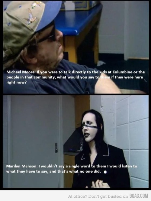 Marilyn Manson. Words Of Wisdom