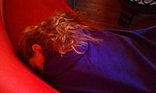 @AmandaTwiddy is at rest @ConcordDilworth. No coffee just yet (Photo by robvc1975)
