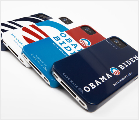 barackobama:  New in the Obama 2012 store today: iPhone cases, made in the USA. Pick your favorite flavor.  Awesome!