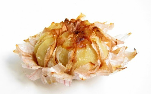"This is ""roasted"" garlic from a pressure cooker! Amazing! Laura of Hip Pressure Cooking is a bona fide genius. She can make everything in a pressure cooker, and has so many fantastic veg recipes! You know we love pressure cookers, and HPC is a superb resource for making the most of your miracle device. Ten-minute roasted garlic! I'm hungry and in awe!"