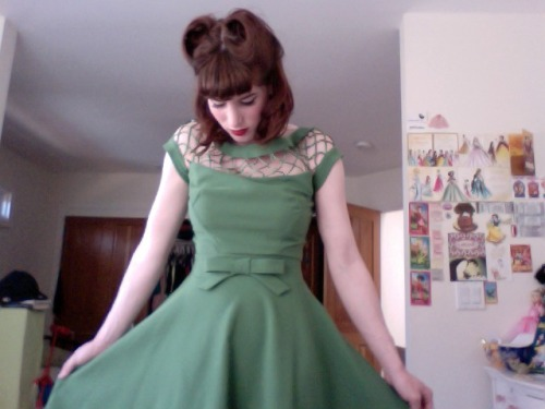 New dress from the Bettie Page store :)