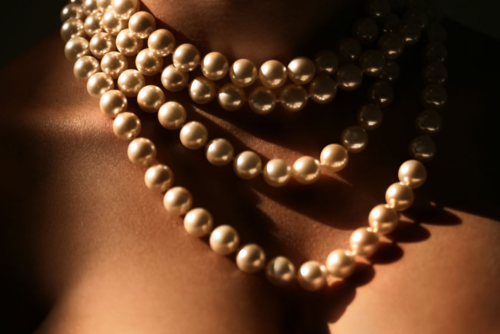 "jjones186:  ♪ ♫ ""She wore a pearl necklace….."" ♪ ♫"