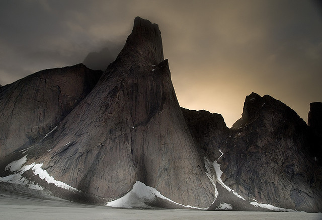 Mt. Asgard, Baffin Island by mattalatta on Flickr.
