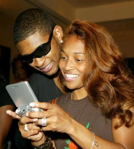 Miss Dem As A Couple Usher And Chilli