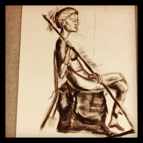 sadly, i dropped figure drawing. :( i wish i didn't have to but i have been feeling so overwhelmed with life lately.