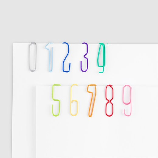 (via fun products / Number Clips: $5 #Paperclips #Number_Clips)